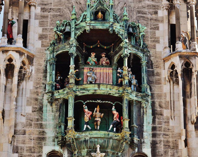 Munich Glockenspiel tower