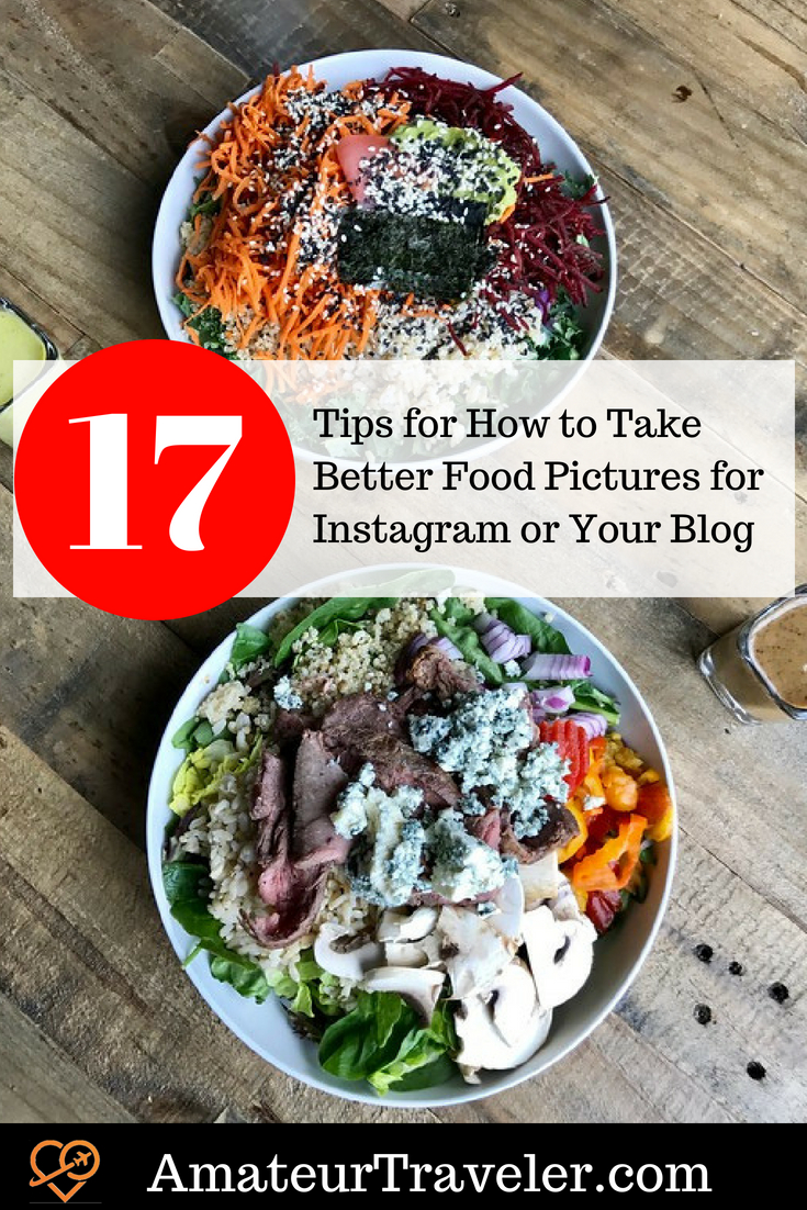 17 Tips for How to Take Better Food Pictures for Instagram or Your Blog #photography #iphone #food #blogging #influencer #food