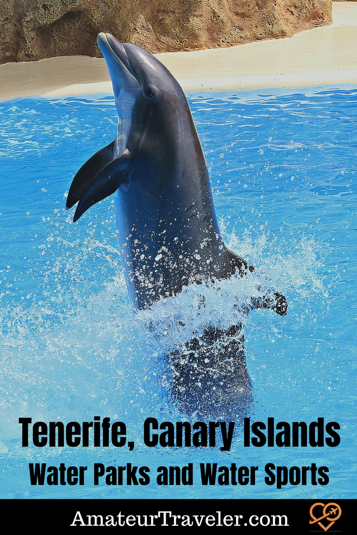 Tenerife Water Parks and Water Sports #travel #watersports #aterparks #canaryislands