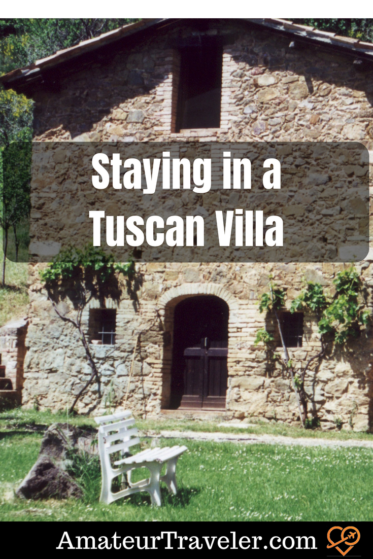 Staying in a Tuscan Villa #villa #tuscany #travel #italy