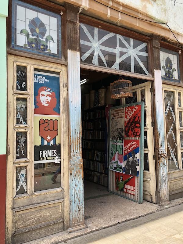 A bookstore in Centro Habana