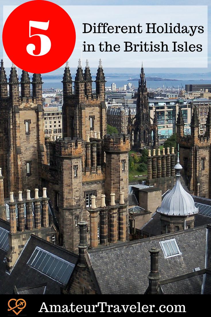 5 Different Holidays in the British Isles #uk #unitedkingdom #england #britain #scotland #travel