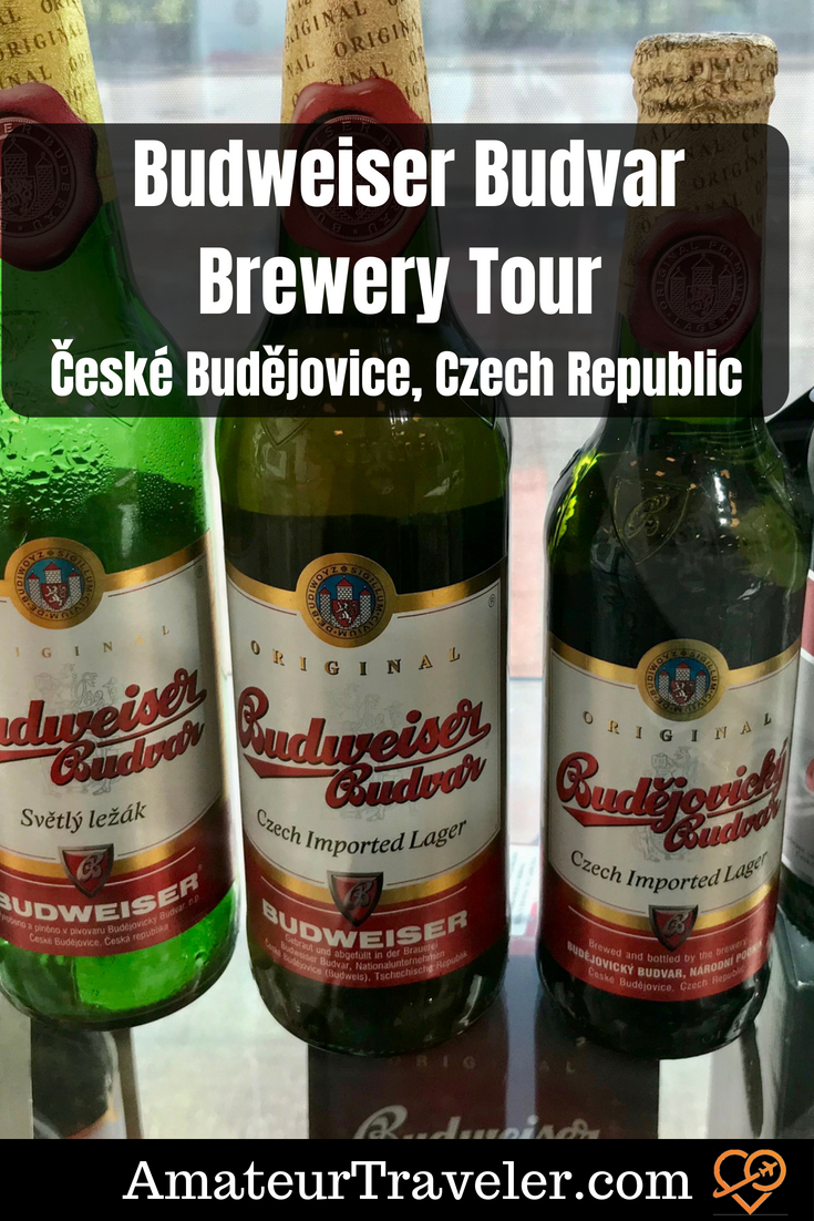Budweiser Budvar Brewery Tour - ?eské Bud?jovice, Czech Republic #czech #czech-republic #beer #travel