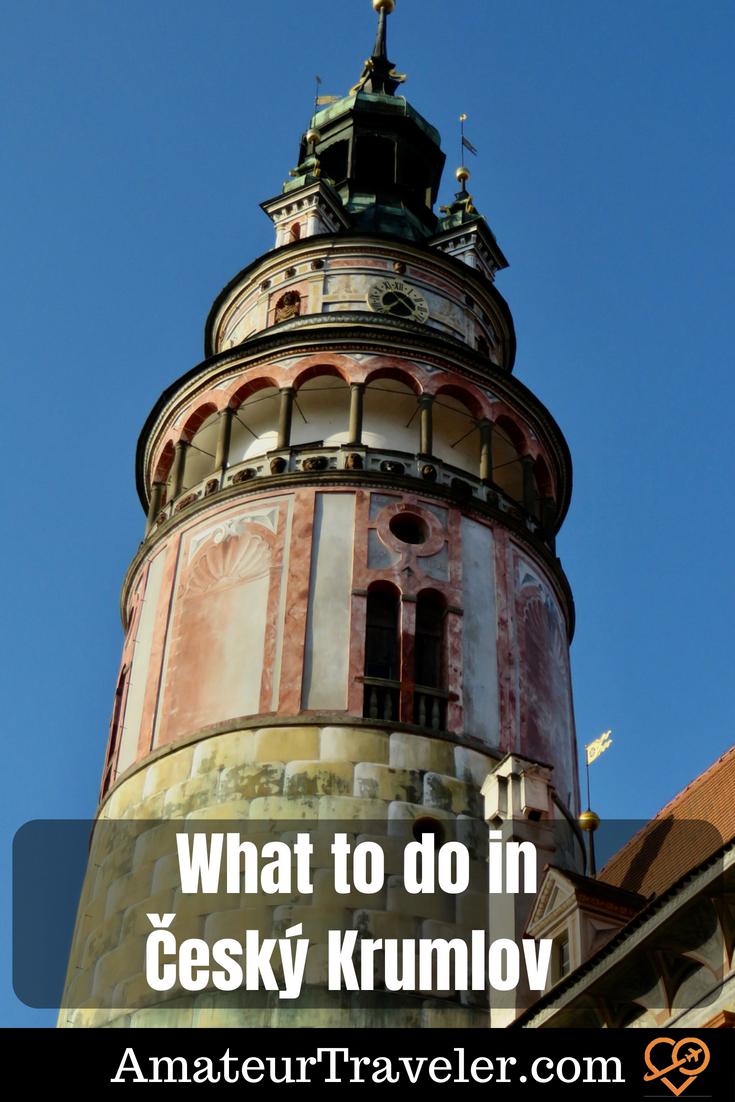 Top Things to do in and near Český Krumlov, Czech Republic #travel #czech-republic #cesky-krumlov