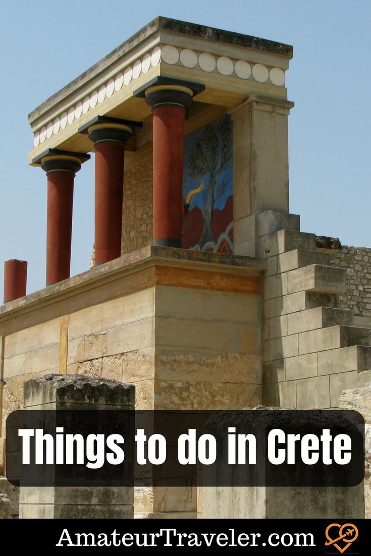 Things to do in Crete Greece #travel #crete #greece