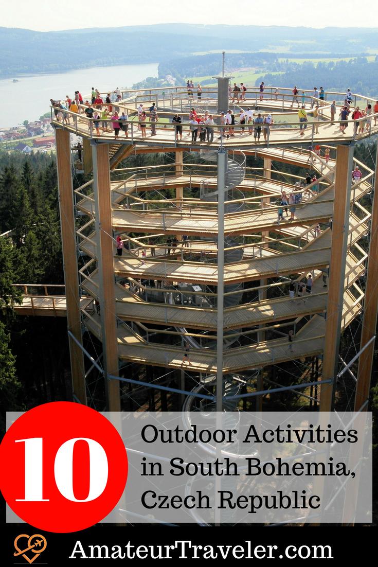 10 Outdoor Activities in South Bohemia, Czech Republic #travel #czech