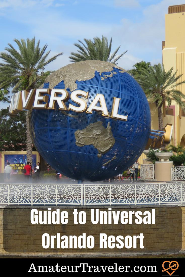 Guide to Universal Orlando Resort #universal-studios #universal #florida #orlando #travel #themepark
