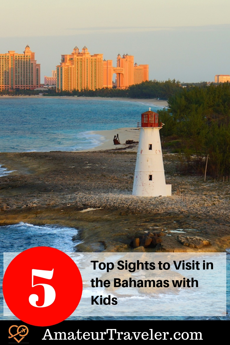 Top 5 Sights to Visit in the Bahamas with Kids #travel #bahamas #kids #family-travel