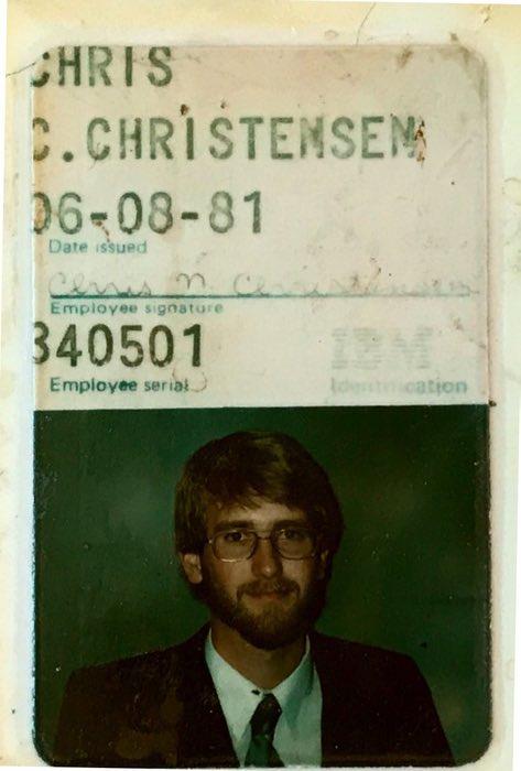 IBM company badge