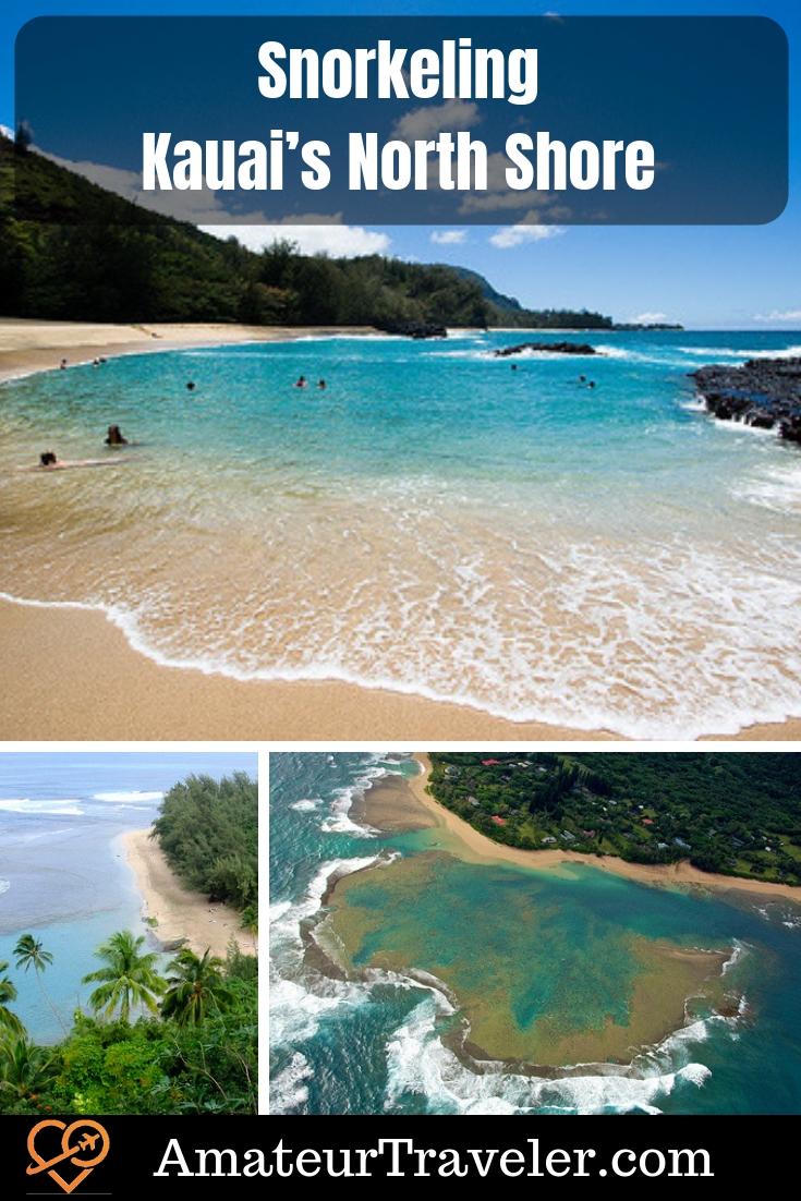 Snorkeling Kauai's North Shore #travel #kauai #hawaii
