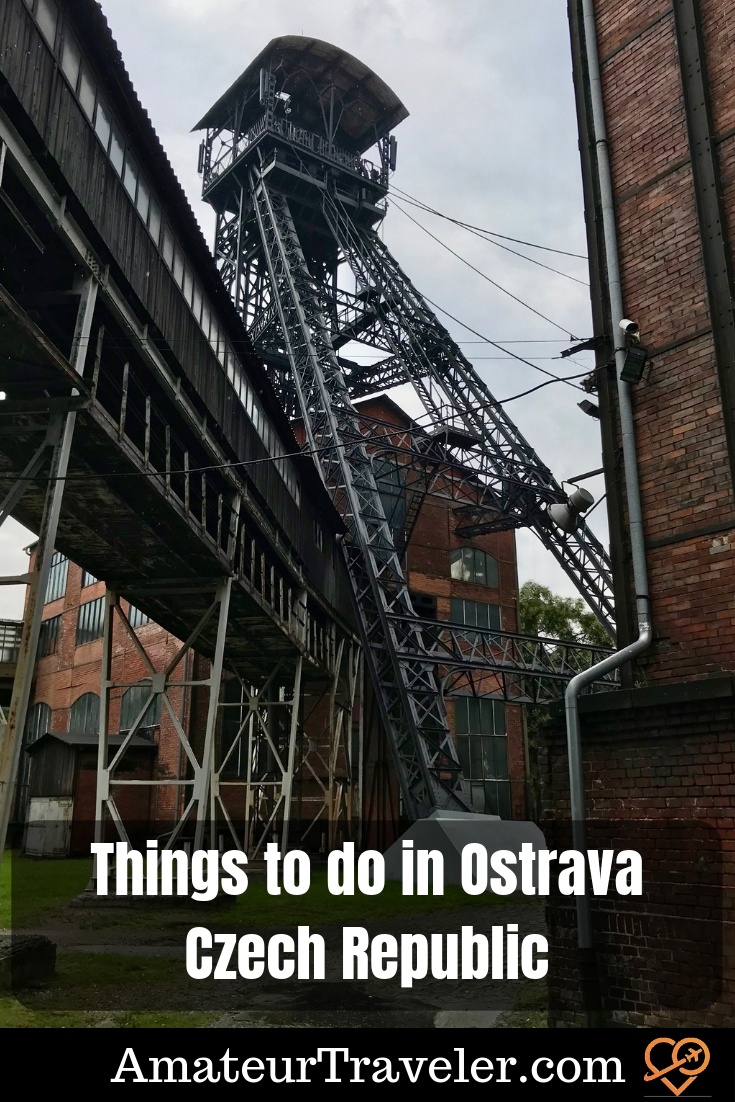 Things to do in Ostrava - Connecting with the Czech Republic's Industrial Past #travel #trip #vacation #ostrava #czech #czech-republic #mining #history #things-to-do-in #what-to-do-in
