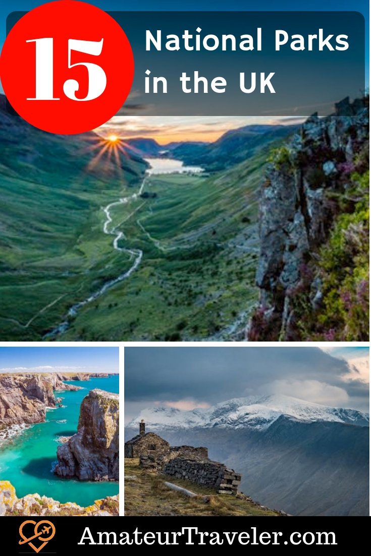 All 15 National Parks in the UK – What to See in a One Day Visit #uk #england #scotland #wales #nationalparks #travel #park
