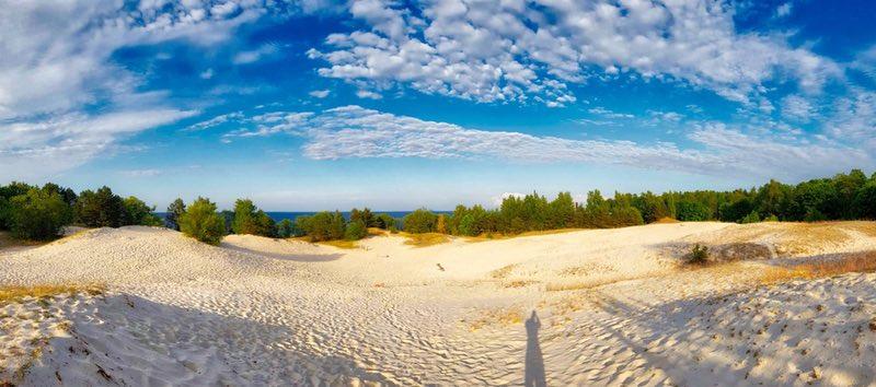Western coast of the Gulf of Riga