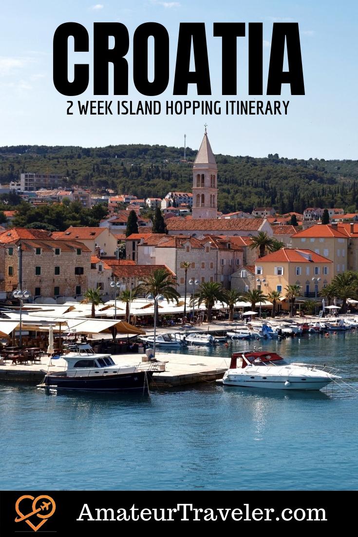 Croatia Island Hopping Itinerary – A 2 Week Itinerary for a Road Trip in Croatia
