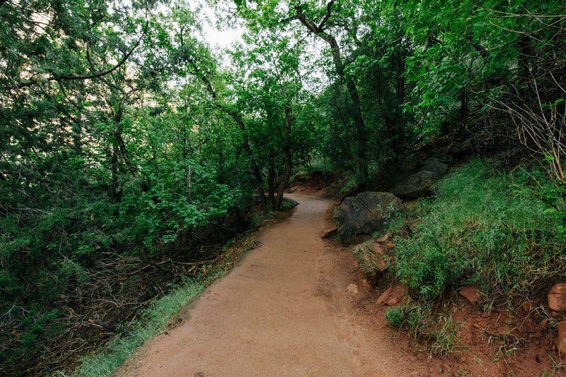 Scranton Lake Walking Path