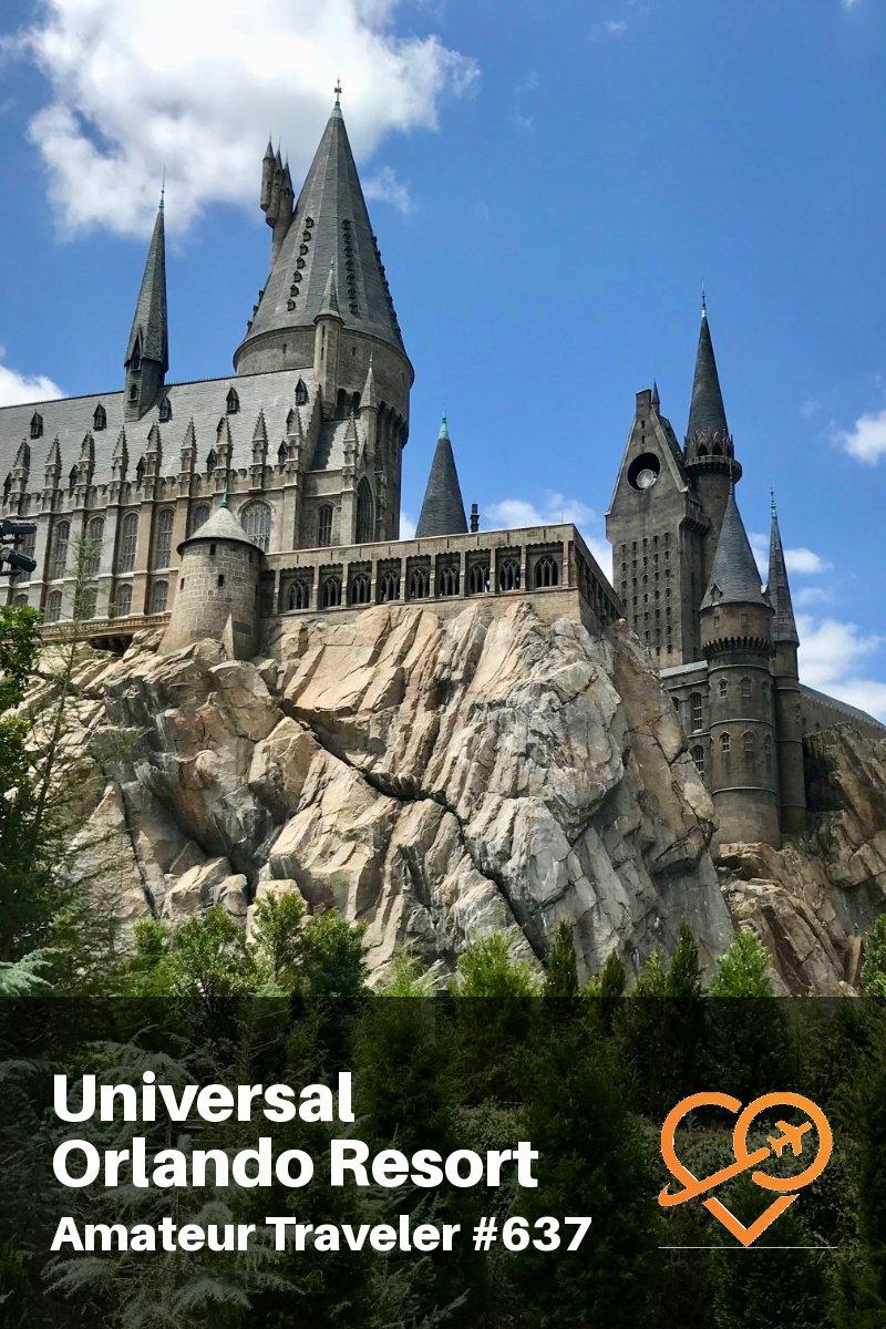 Visiting Universal Orlando Resort in Florida (Travel Podcast)   The Wizarding World of Harry Potter   Universal Studios Florida   Universal's Islands of Adventure   Volcano Bay