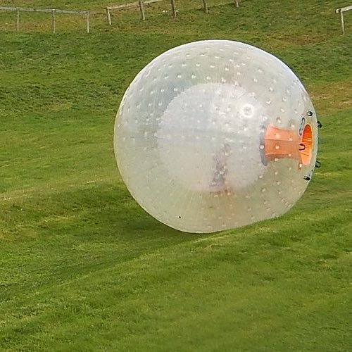 Zorbing – Riding a Human Hamster Ball – Rotorua, New Zealand