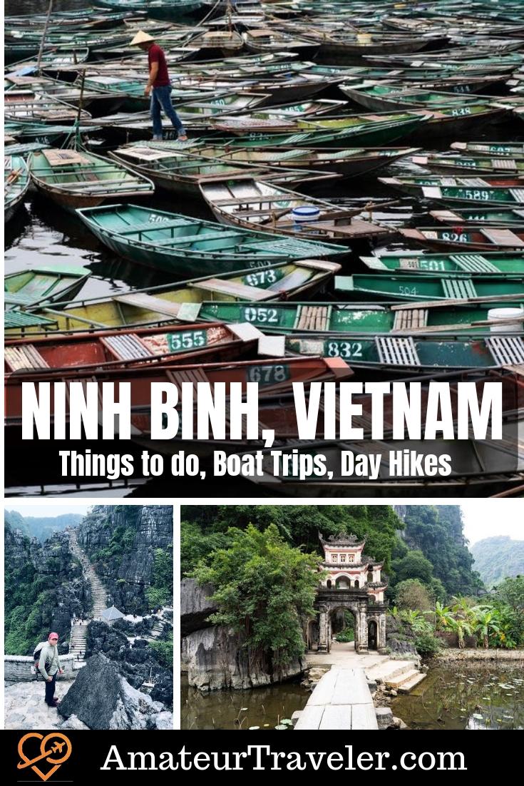 Things to do in Ninh Binh, Vietnam - Boat Trips, Day Hikes, Day Trips | Ninh Binh tour | trang an boat tour | hat to do in ninh binh#travel #ninhbinh #vietname