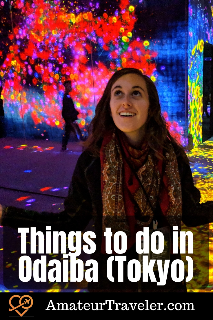 Things to do in Odaiba (Tokyo) #travel #tokyo #japan