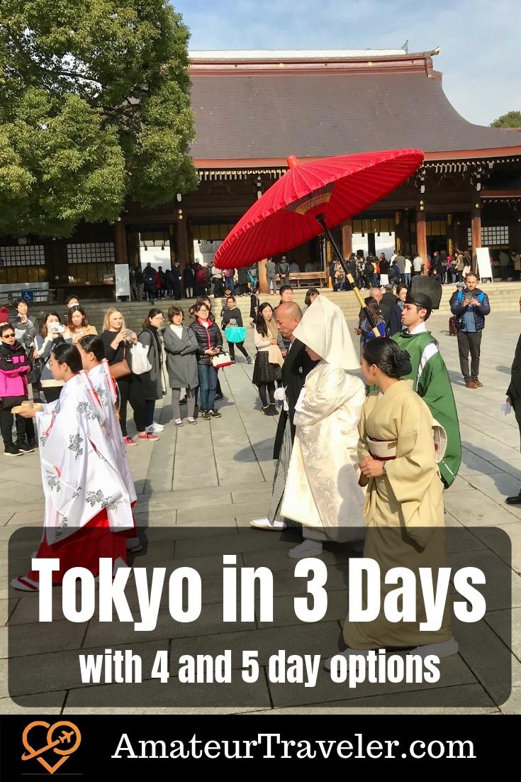Tokyo Itinerary 3 Days | Tokyo Itinerary 5 Days | Tokyo Itinerary 5 Days | 3 days in Tokyo | 4 days in Tokyo | 5 days in Tokyo #travel #tokyo #japan