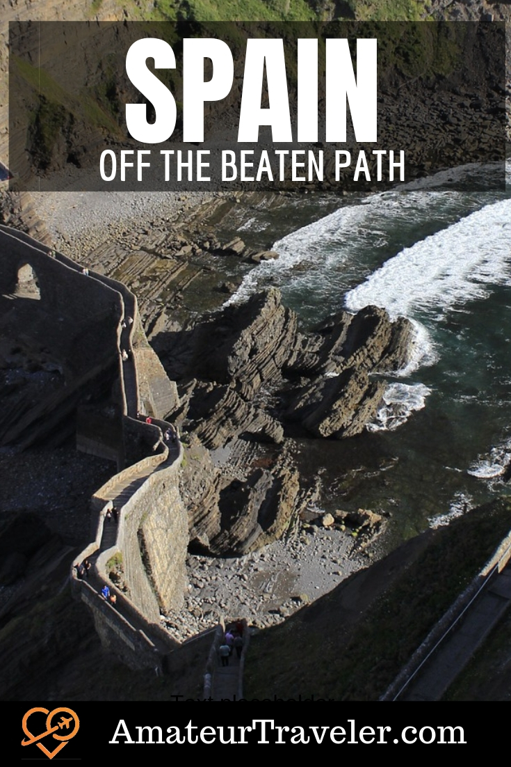 Off the Beaten Path in Spain - 9 Places to Avoid the Crowds #travel #trip #vacation #spain #barcelona #madrid #costa-brava #tenerife #seville #sevilla #beaches #culture #hiking #itinerary #thingstodoin #city #sea