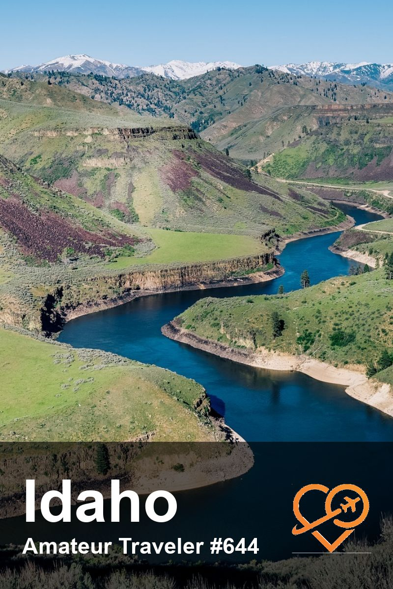 Idaho Road Trip (Podcast) | What to see in Idaho | Where to go in Idaho #travel #trip #vacation #destinations #whattodoin #planning #roadtrip #sunvalley #boise #salmonriver