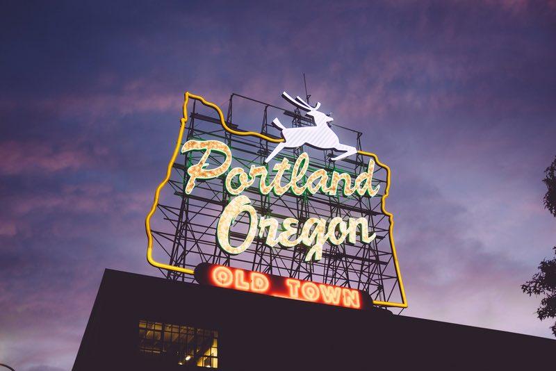 Porland Oregon downtown