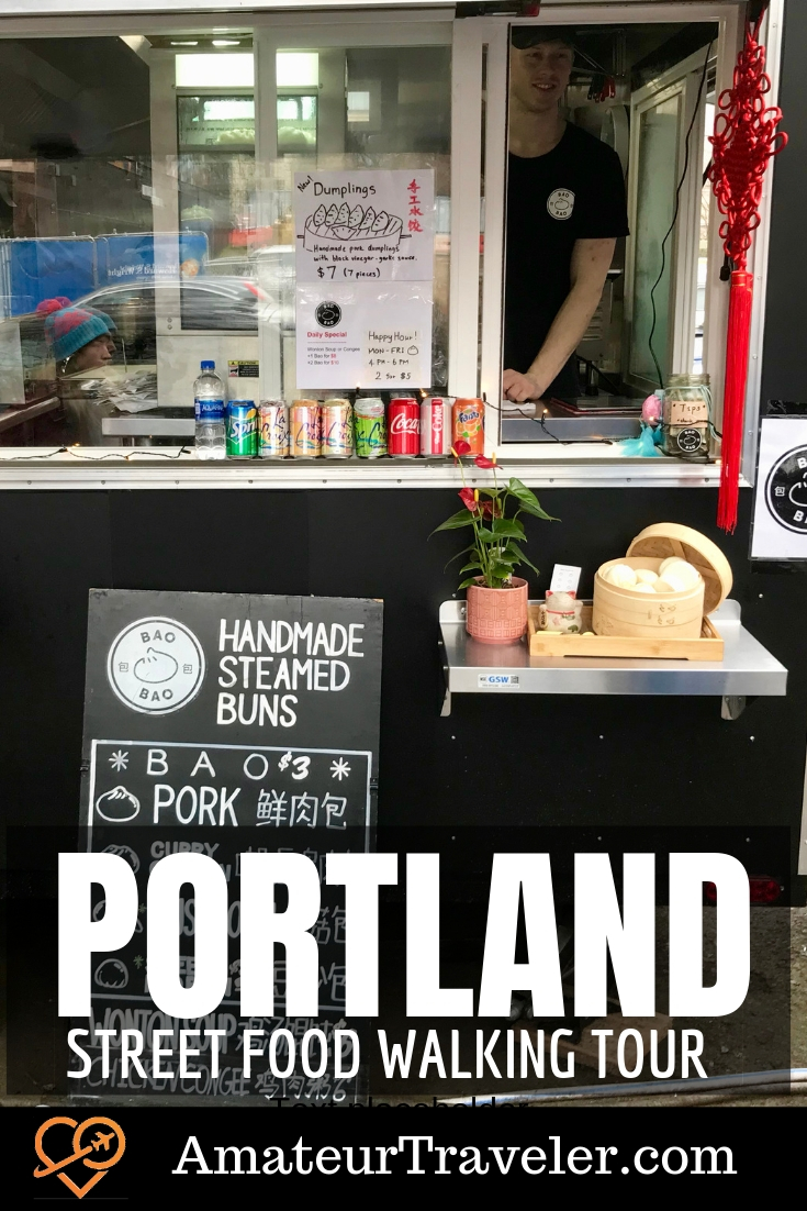 Best Portland Trucks and Carts - Food Cart Walking Tour - Portland, Oregon | Portland Street Food Walking Tour #travel #trip #vacation #portland #oregon #food #carts #trucks #tours #tour #alking-tour #thingstodoi #withkids #downtown #best #vegan #vegitarian #fun #scene