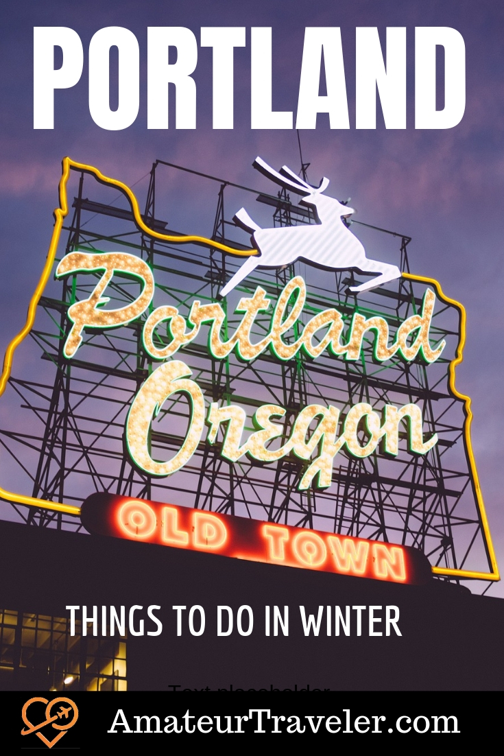 Things to do in Portland in Winter | Things to do in Portland with Kids #travel #trip #vacation #portland #oregon #thingstodo #withkids #downtown #food #art #breweries #winter #aterfalls #restaurants #hikes #vegan #japanese-garden #hotels #voodoo-donuts