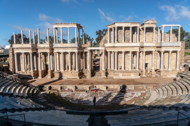 Romans ruins of Merida