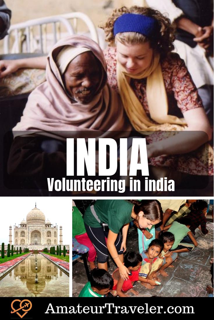 Volunteering in India - Sustainable Tourism #travel #trip #vacation #india #volunteer #volunteering