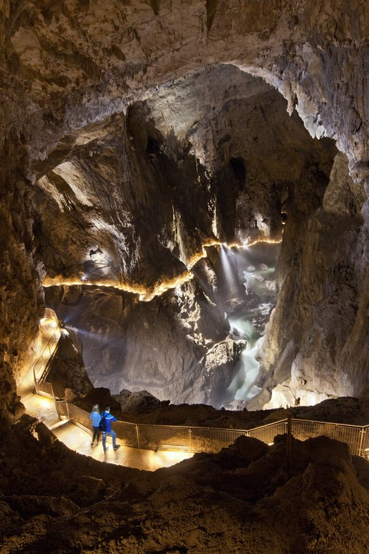 Škocjan caves Slovenia