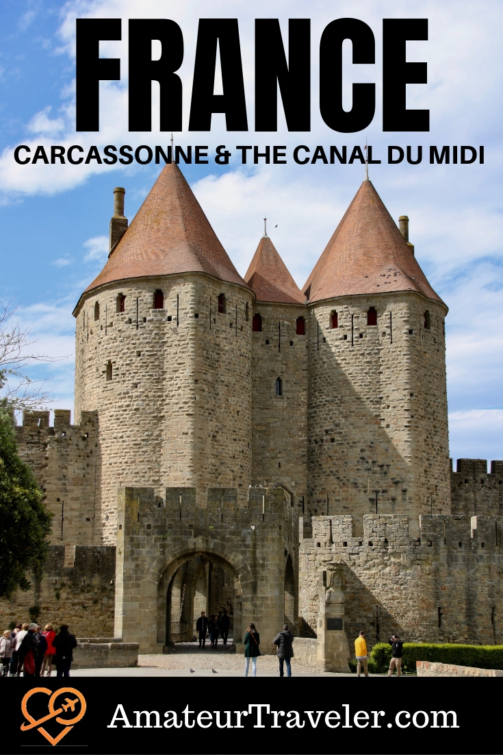 Cruising on the Canal du Midi - A Luxury Barge Cruise in Southern France including Carcassonne #travel #trip #vacation #france #barge #boats #france #Languedoc #Carcassonne #wine #food #luxury #french #medieval #castles