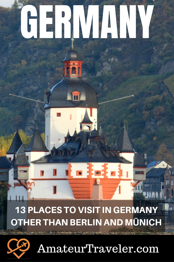 13 Places to Visit in Germany other than Berlin and Münich | Destinations in Germany #travel #trip #vacation #germany #destinations #cities #rhine