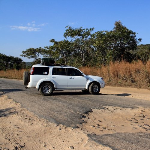 Zambia Road Trip from Bottom to Top