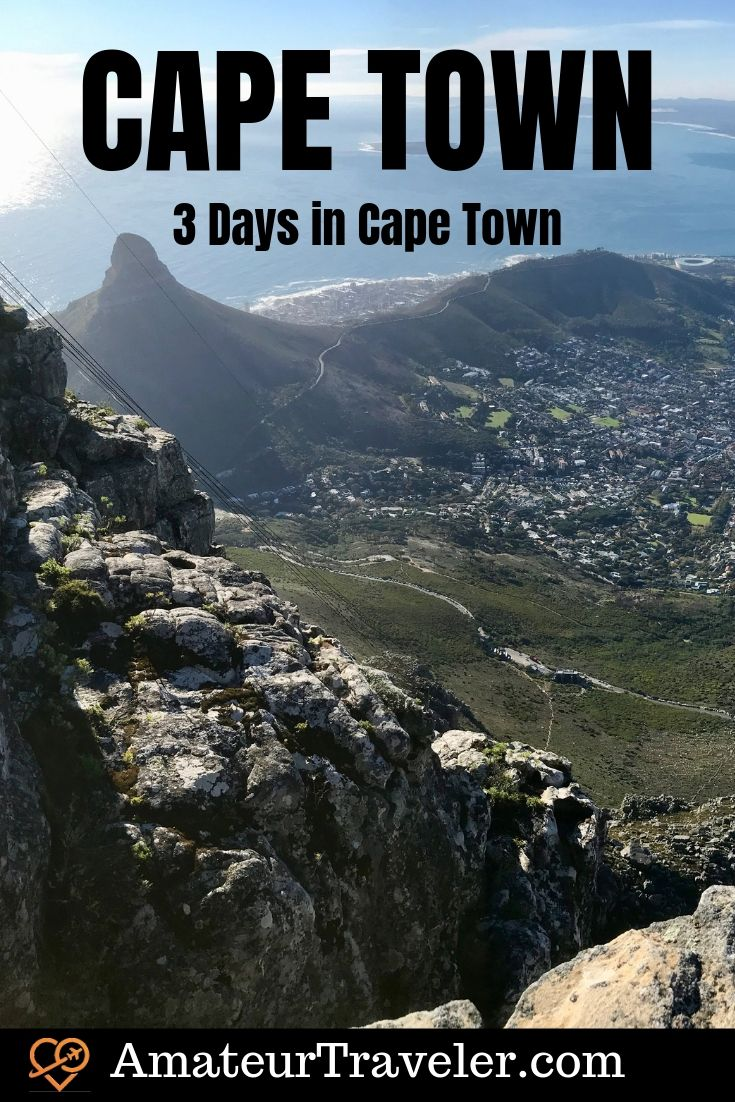 3 Days in Cape Town - A Cape Town Itinerary | What to do in Cape Town #travel #trip #vacation #cape-town #winelands #south-africa #africa #robben-island #table-mountain #what-to-do-in #itinerary #things-to-do-in #wine #beach #hotels #wineries