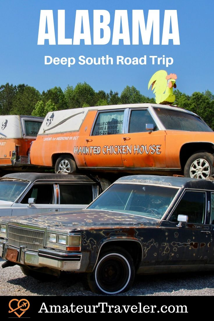 Deep South America Road Trip (Alabama, Mississippi and Louisiana) - beaches, battlefields, civil rights, civil war, rockets and haunted chicken coops #travel #roadtrip #usa #alabama #mississippi #Louisiana #trip #vacation #national-parks #usa #america #united-states #history #cities