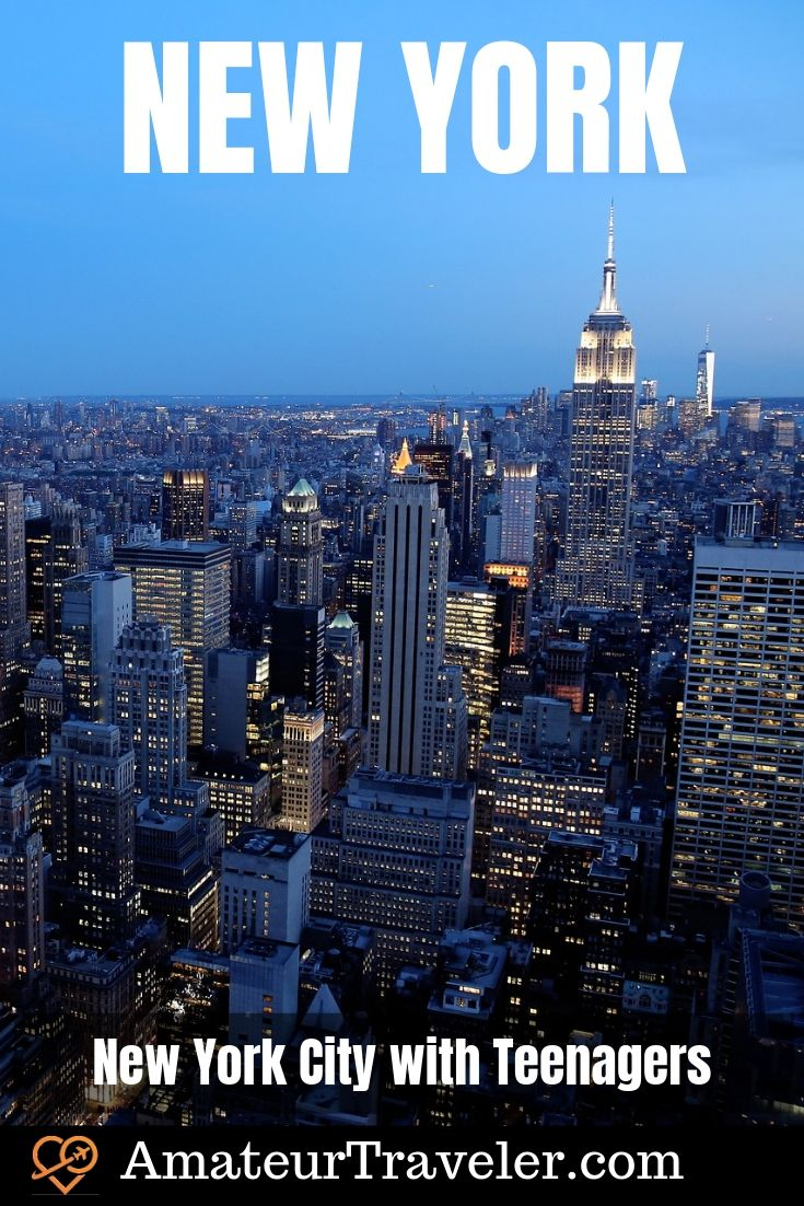 15 Unique Things to do in NYC with Teenagers #newyork #nyc #newyorkcity #travel #trip #vacation #teens #teenagers #with-teens #things-to-do-in