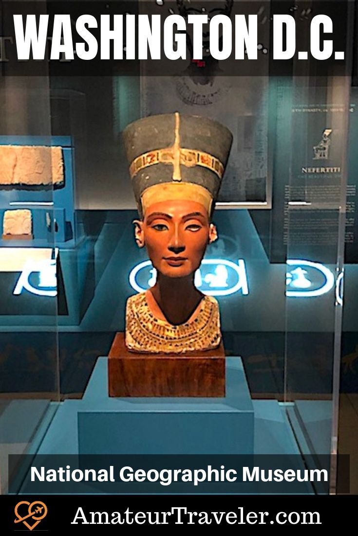 Best Museums Washington D.C. | National Geographic Museum | Things to do in Washington D.C #washington-dc #museum #things-to-do-in #history #with-kids #travel #trip #vacation