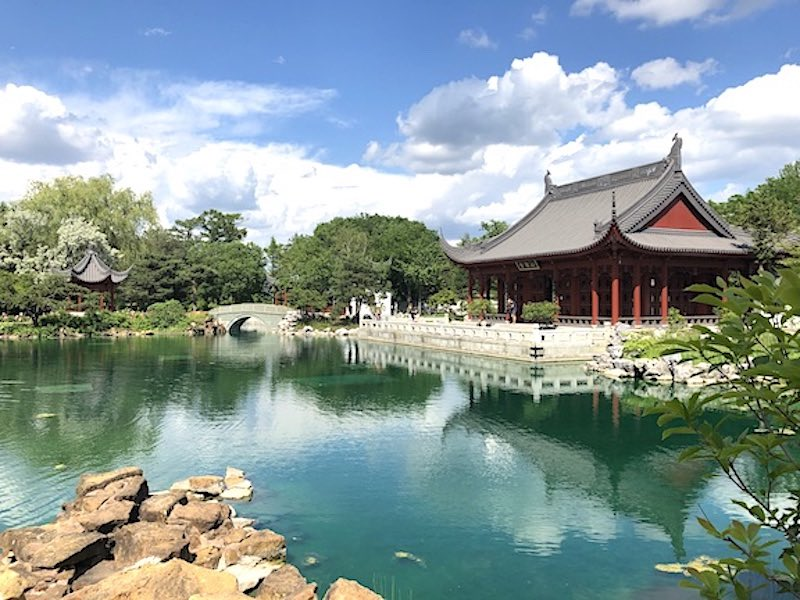 The Chinese Garden in the Montreal Botanical Gardens