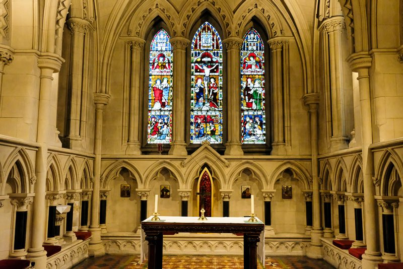 Christ Church Cathedral in Dublin Ireland Lady Chapel