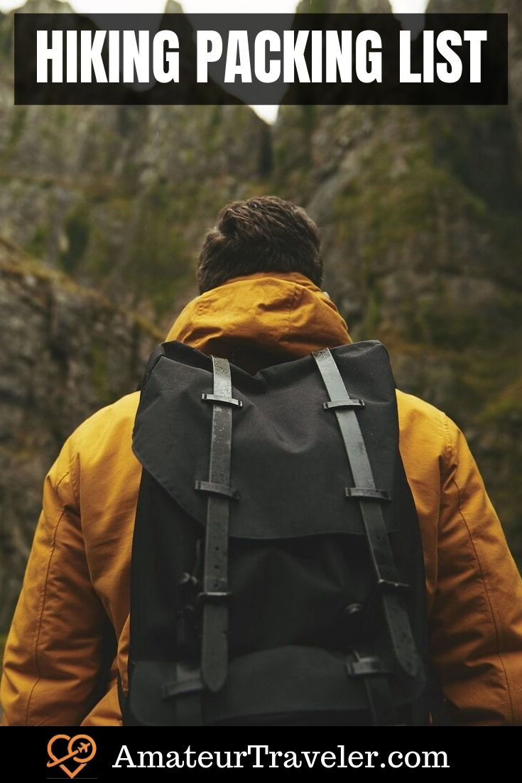 The Complete Hiking Packing List: 20 Must-Have Things for Comfortable Hiking Trip #travel #hiking #treking #backpacking #packing #tips #gear
