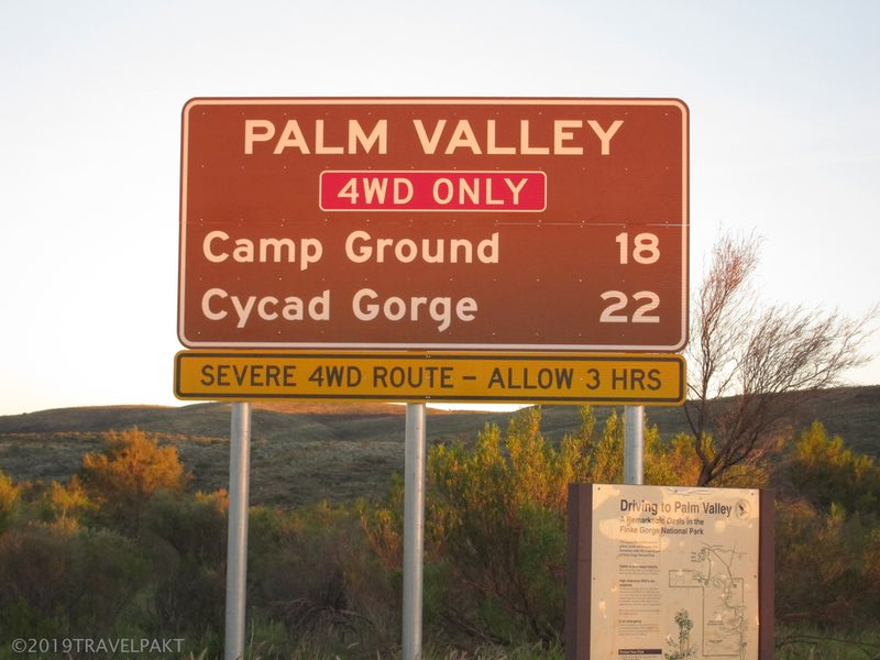 Palm Valley Signage