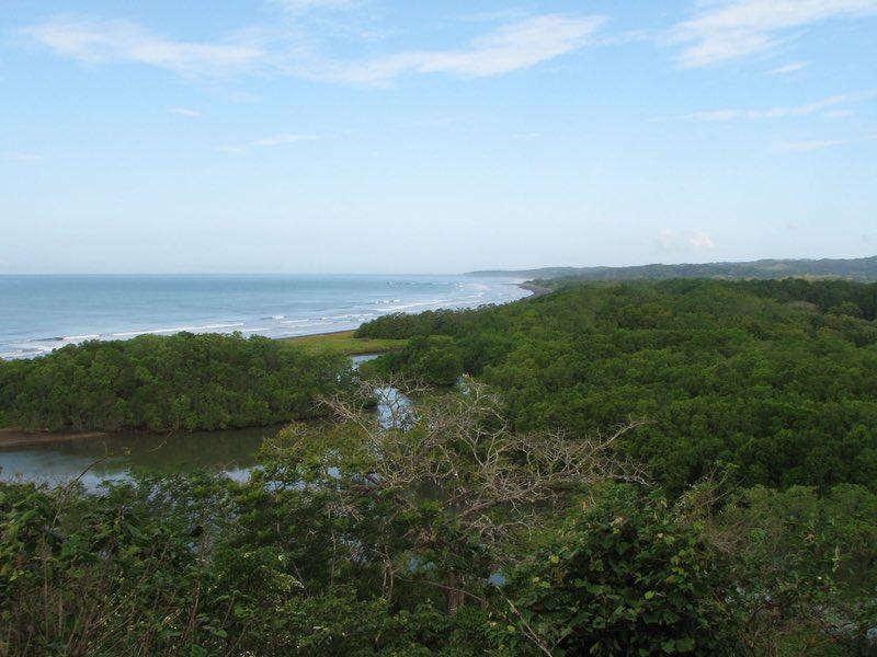 Playa Nosara and river