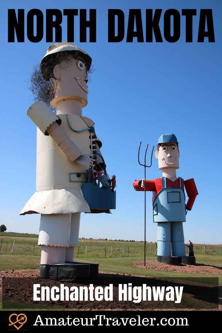 Road Trip to North Dakota - Theodore Roosevelt National Park, Medora Musical and the Enchanted Highway #travel #trip #vacation #usa #north-dakota #badlands #bison #enchanted-highway #medora #medora-musical #theodore-roosevelt #national-park