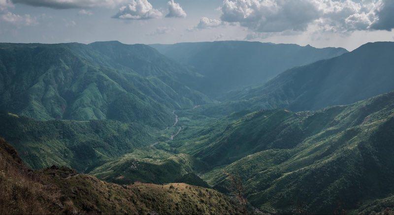 View along the Shillong Peak Trek
