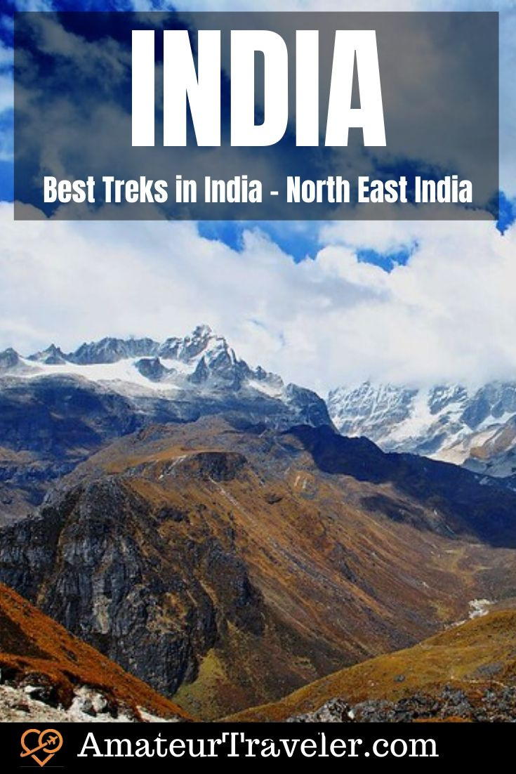 Best Treks in India - North East India #travel #trip #vacation #trek #trekking #india #asia himalayas