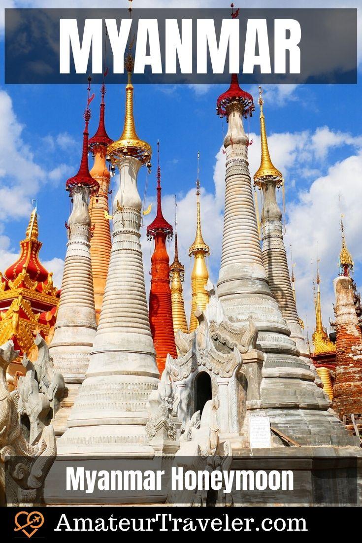 Myanmar Tourist Spots we saw on Our Myanmar Honeymoon | What to see in Myanmar #travel #trip #vacation #myanmar #market #food #traditional-dress #people #mandalay #rangon #balloon #inle-lake #longyi #kayan