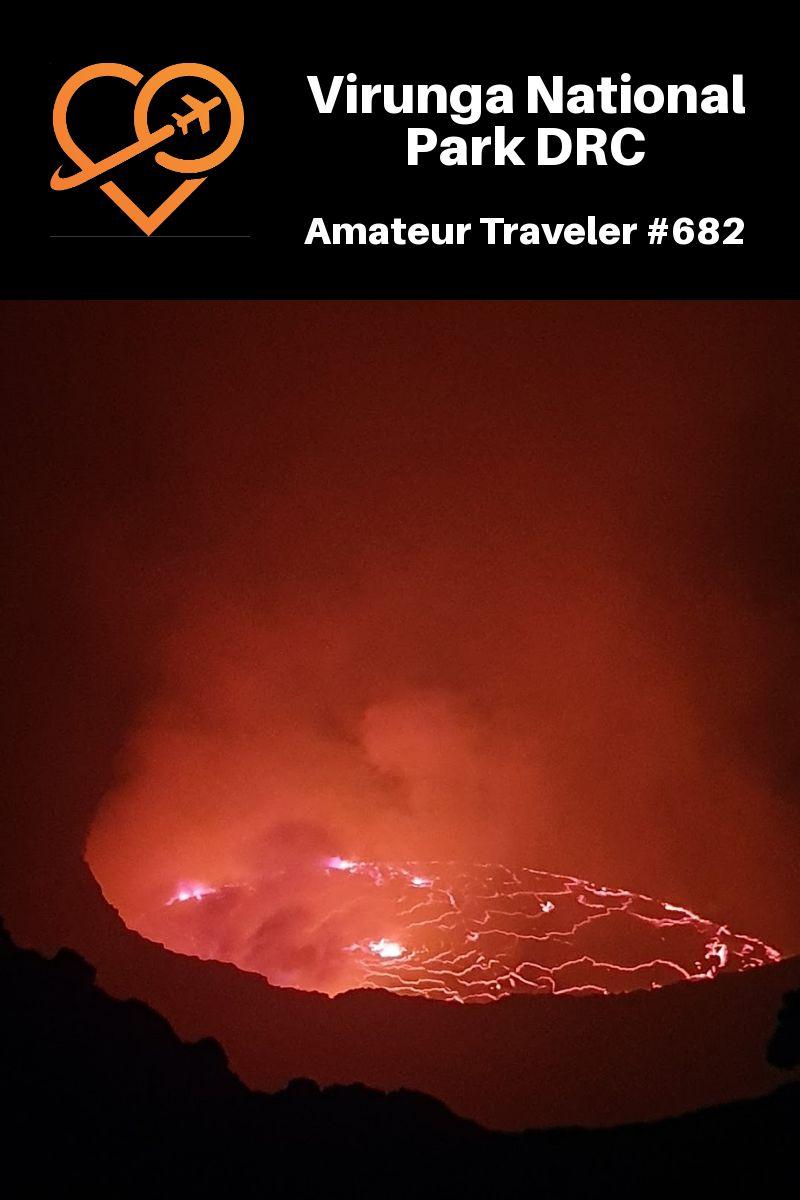 Virunga National Park in the Democratic Republic of the Congo (Podcast) #africa #drc #Virunga #National-Park #Democratic #Republic-of-the-Congo #gorilla #gorillas #chimpanzee #volcano #mountains #volcanoes #wildlife #travel #trip #vacation