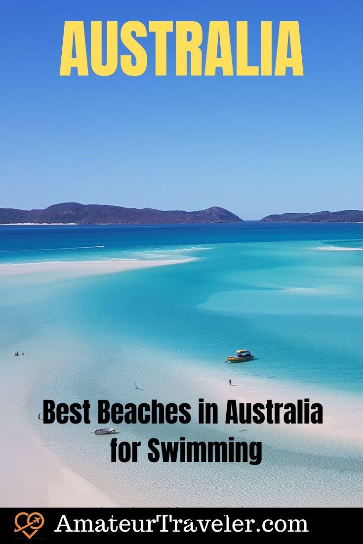 Best Beaches in Australia for Swimming #travel #trip #vacation #australia #beaches #bondi #swimming